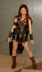 'Dark' Xena Costume by reedymanedkelpie