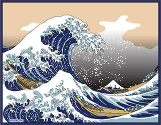 The Great Wave by krazykarl