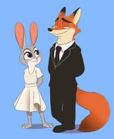 Nick and Judy by Diamond-apple