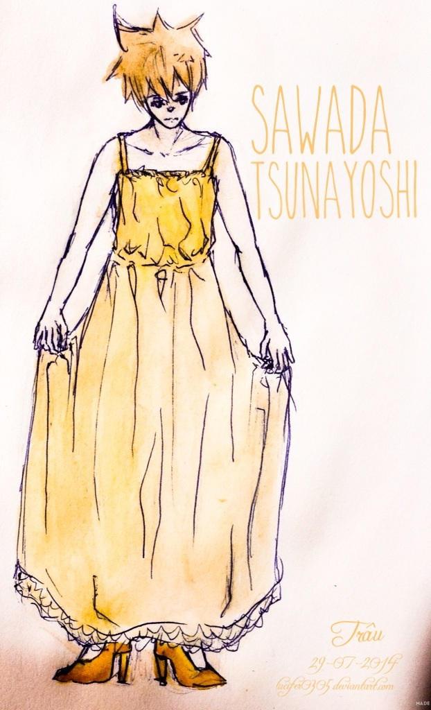 Sawada Tsunayoshi by Lucifer0305
