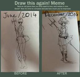 Draw this again! meme by Lucifer0305