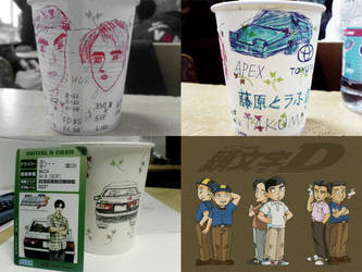 InitialD-papercup by E-young