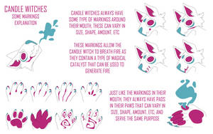 Candle Witches (Markings and Pads) by Pyro-Zombie