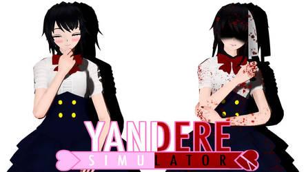 MMD Yandere Simulator - Ayano 2.0 by AlexXMoon