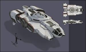 Star Wars Ship by Samize