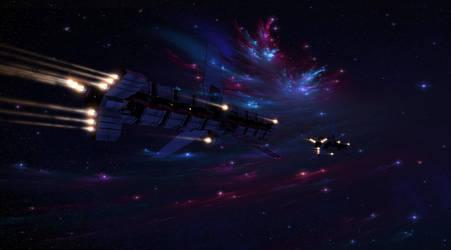 Trade fleet by Stormfactor