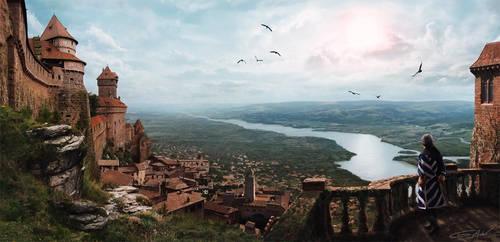 Toscane's Skies by Tony-ob