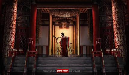Red Silk by Tony-ob