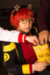 Snacking with 707 - Mystic Messenger by Shroker