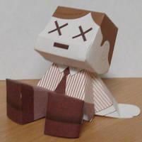 Papercraft - Manager XX by KuroiSenshi
