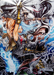 Tigerlily and the Team Unicorn by Rhafiel