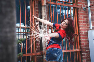 Mary Jane Watson/Spider-Girl Cosplay by MegynMuse