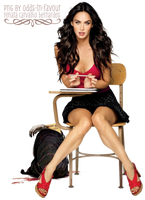 PNG 25 - Megan Fox by odds-in-favour