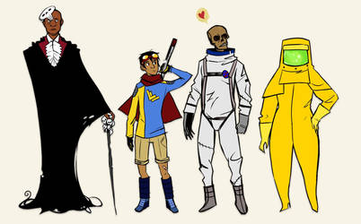 OC Lineup by polvoice