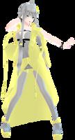 [MMD]Ax of Goddess Yuzuki Yukari by melodysquad