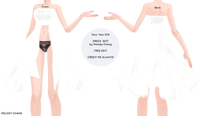 New Year Gift-Dress Edit Download by melodysquad