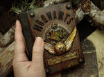 Quidditch Handbook - New Palm Size Journal by LuthienThye