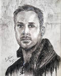 Ryan Gosling as Agent K by LuthienThye