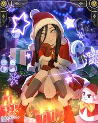 Hanabi Christmas by AiKawaiiChan