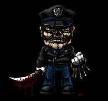 SD Maniac Cop by DeTinteyLengua