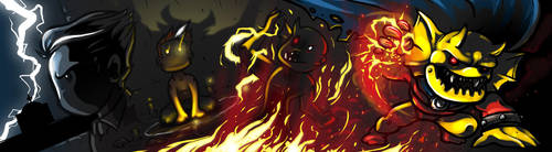 Jason Blood - The Demon Etrigan by DeTinteyLengua
