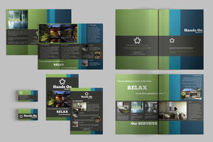 Set of Brochures / Stationery 07 by andre2886