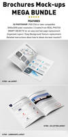 Photorealistic Brochure Mockups Bundle Templates by andre2886