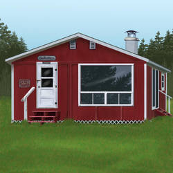 Nova Scotia Family Cabin by goddesstll