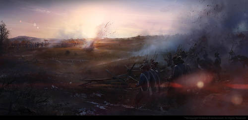 Battle of Monmouth by wwudesign