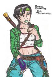 Headband Heroines II - Jade by korblborp