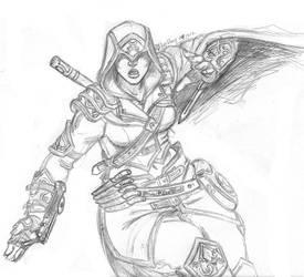 Jade Assassin by korblborp
