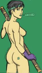 Pinchable Jade! by korblborp
