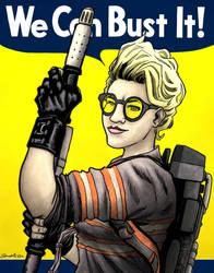 We Can Bust It! by artistjerrybennett