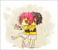 Hugged by egushi