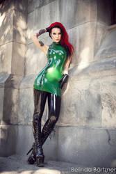 Starfucked in Shitake Gothic Latex Couture III by BelindaBartzner