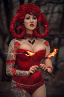 ElegyEllem Dark Valentine I by BelindaBartzner