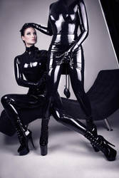 Lacing Lilith - Heavy rubber I by BelindaBartzner