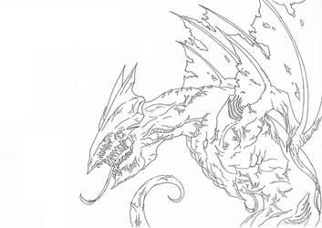 Kaiju: Strain Gyaos [The Evolution] by Cyprus-1