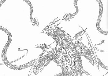Kaiju: The Evil God Rais [Revenge-of-Irys] by Cyprus-1