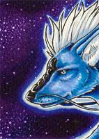 ACEO - Night Dragon by Kata