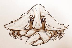 Umbrella Crab by Kata