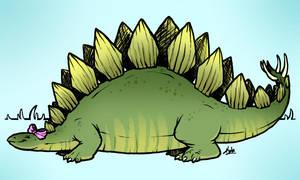 Stegosaurus by Kata