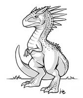 Carnotaurus by Kata