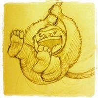 Little Gorilla by Kata