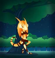 Dijani Dragonborn by Kata