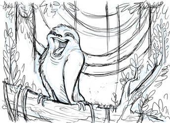 Hapi the Energetic Sloth by Kata