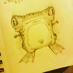 Frog Monster by Kata