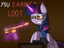 ( MLP/TF2 ) You earned loot! by MechatheTecha