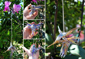 Hummingbird pendant by SeanAvery