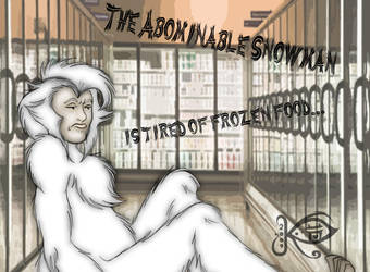 The Abominable Snowman by KittySpiegel